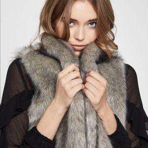 Faux-Fur Vest gray 💕🌪